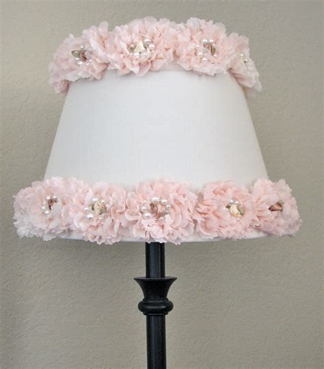 shabby chic l shade shabby chic nursery decor rose l