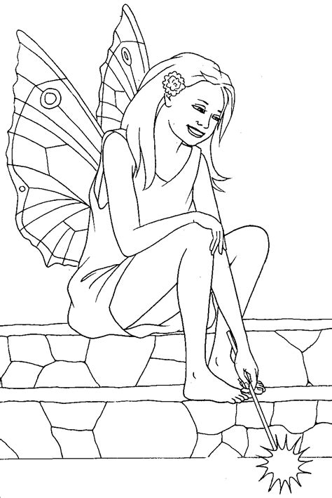 princess wand coloring pages free coloring pages of fairy wand