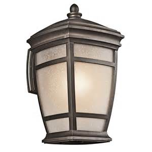 Kichler Outdoor Lights Kichler Outdoor Lighting 49272 Mcadams Collection Sconce Transitional