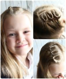 Easy Hairstyles On Pinterest by Easy Hairstyles For Little Girls 10 Ideas In 5 Minutes