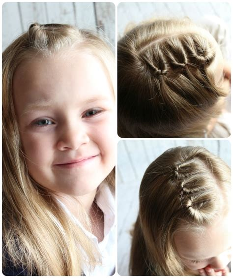 easy girls hairdo easy hairstyles for little girls 10 ideas in 5 minutes