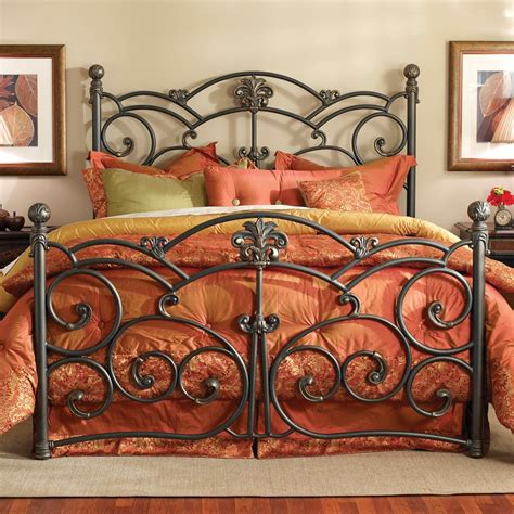 Wesley Allen Iron Headboards by Lucerne Iron Bed By Wesley Allen Humble Abode