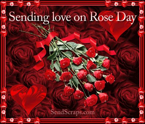 Top 100  Happy Rose day 2017 GIF Image & Picture For WhatsApp