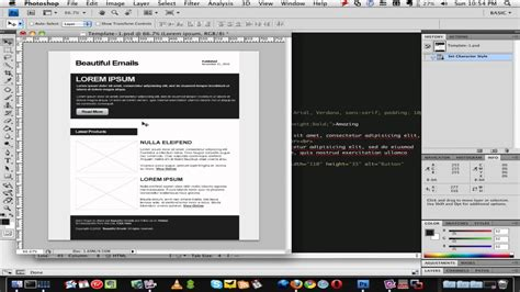 How To Create A Html Email Template 2 Of 3 Youtube How To Make An Email Template