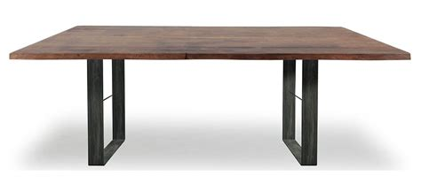 piano tavolo legno tavolo con base in metallo e piano in legno massiccio