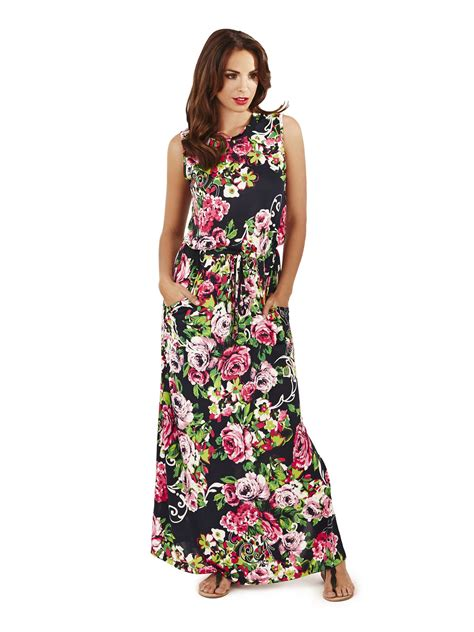 pistachio ladies maxi dress long womens summer floral