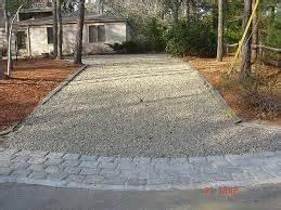 Ballard Design Reviews crushed concrete driveways and roads