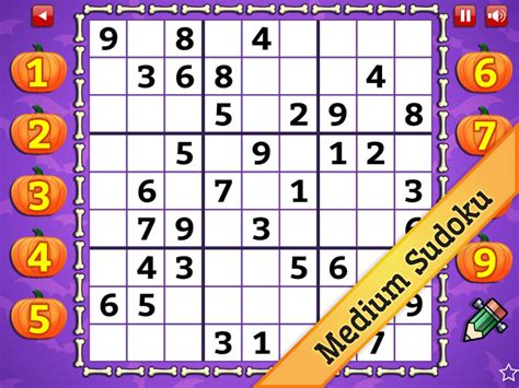 printable halloween sudoku downloadready com free software downloads