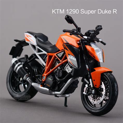 Ktm New Model Bike Freeshipping Maisto Ktm 1290 Duke R Motorcycles 1 12