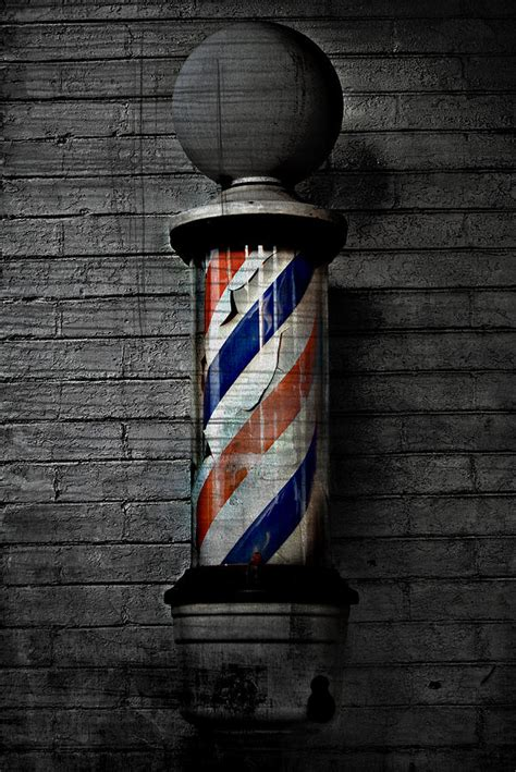 Bath Shower Curtains barber pole blues photograph by the artist project