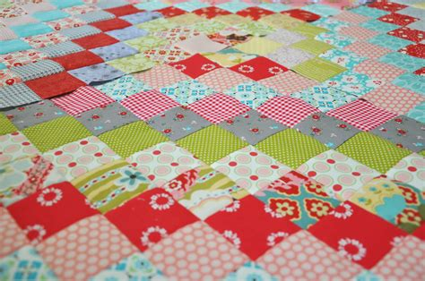 Trip Around The World Quilts by Clover Violet A New Scrappy Trip Around The World Quilt
