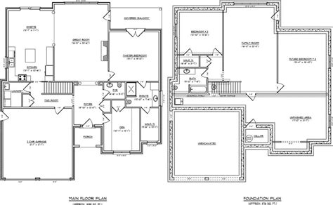 one level house plans with basement one level house plans with basement new single story with basement house plans basements ideas