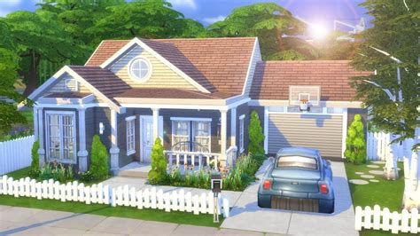 Family Home by Simple Family Home The Sims 4 Speed Build