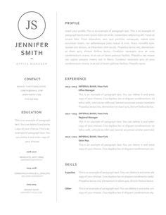 sle resume for esthetician student a stay at home resume sle for parents with only a