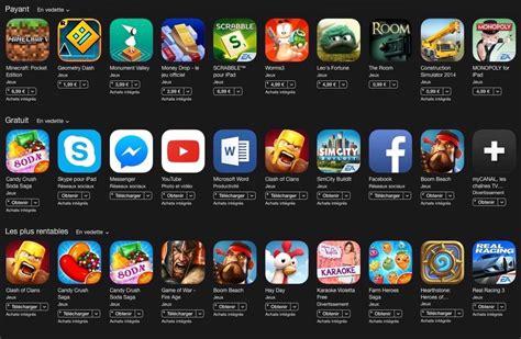 Application De Voici Le Top Des Apps Et Jeux 2015 D Apr 232 S Les