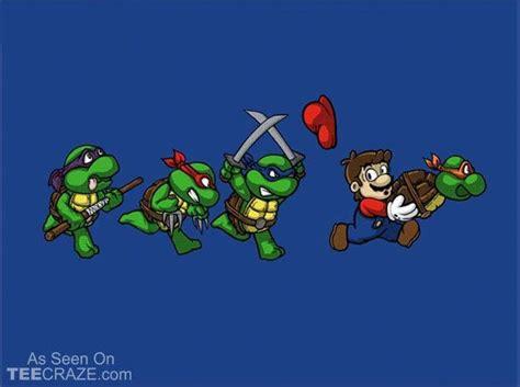 Bros Mini Mewah Turtle Blue tortugas y mario humor tmnt
