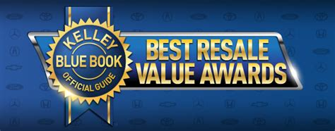 kelley blue book kelly blue book car value january march 2012 2017 best resale value awards kelley blue book