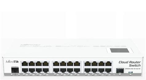 Router Mikrotik 16 Port Mikrotik Cloud Router Switch Crs125 24g 1s In Complete 1