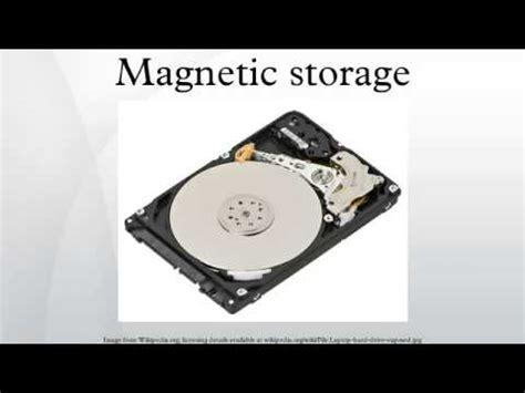 magnetic storage youtube