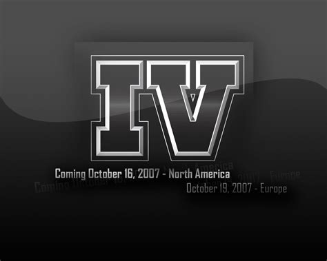 Grand Theft Auto 4 Logo by Grand Theft Auto 4 Logo Wallpaper Gta Iv Wallpapers