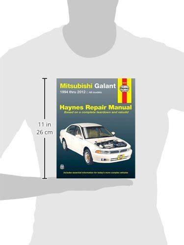 service manual hayes car manuals 2008 mitsubishi galant user handbook 2007 mitsubishi galant mitsubishi galant 1994 thru 2012 all models haynes repair manual buy online in uae