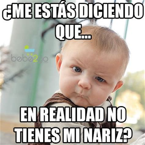Meme Bebe - bebe inteligente chiste fun funny baby quotes