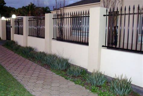 fence designer screen walls brick fence designs cdr fence wall