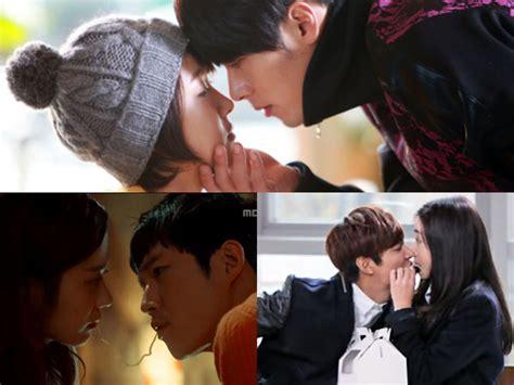 feature ini dia adegan ciuman unik dalam drama korea ini dia berbagai cara unik berciuman dalam drama korea