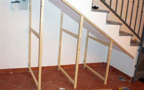 Under Cabinet Stereo Build Understairs Storage How To Make An Under Stairs Closet