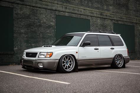 bagged subaru forester fs for sale nc 2000 subaru forester wrx swapped and