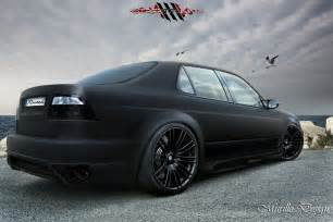of digging the matte black paint on a car