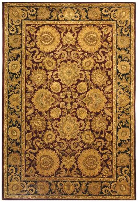 burgundy and gold rug safavieh classic cl244a burgundy and gold area rug free shipping
