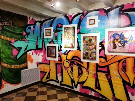 Great Graffiti Artists Local Artist Clint Klima Sets The Backdrop For Germs And