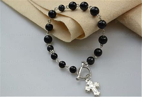 how to make a beaded rosary beaded bracelets tutorial how to make rosary bracelet with