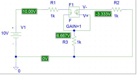 voltage dependent capacitor pspice pspice dc simulation to quot measure quot the voltage across the dependent