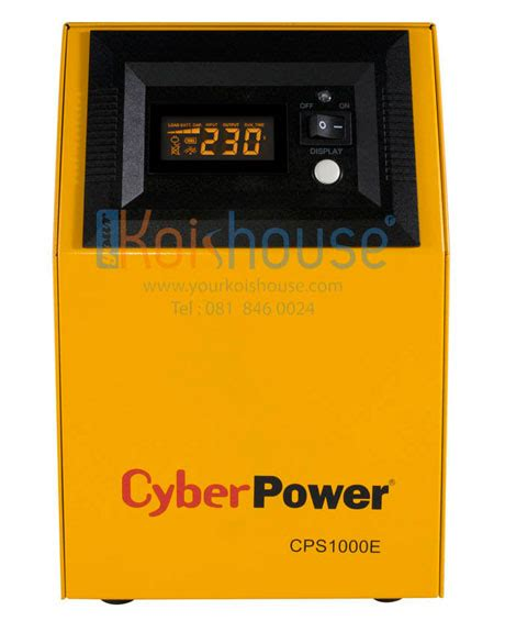 cyber power cps 1000e 3 your kois house