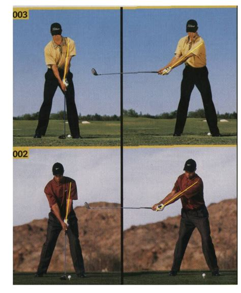 golf swing arc back swing arc