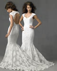 wedding dress lace open back breathtaking lace wedding gowns with open back