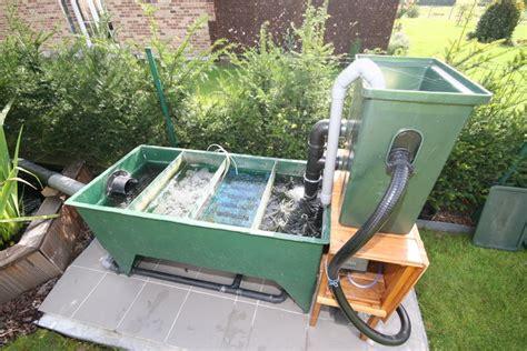 filtre bassin de jardin le bassin de jardin de papou le filtre