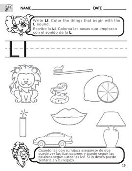 L Sound Worksheets by 100 Worksheets Of Letter L Kindergarten Writing