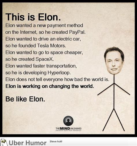 elon musk funny elon musk is badass funny pictures quotes pics