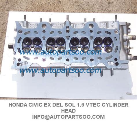 honda civic ex del sol 1 6 vtec sohc cylinder head 96 99 early type