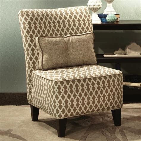chelsea home 271982 011 esse armless accent chair atg stores - Armless Accent Chairs