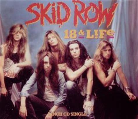18 and on skid row books skid row 18 and jive