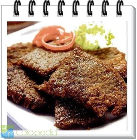 resep  membuat empal daging sapi pedas resep masakan