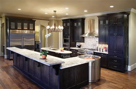 Great Kitchen Islands divine decorating ideas using rectangular black wooden