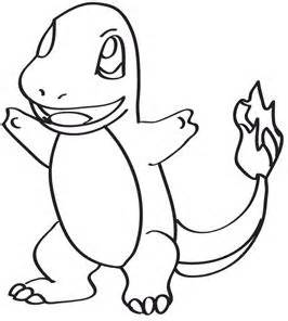 pics photos charmander pokemon coloring pages sketch template