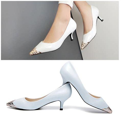 High Heels Wanita Sh 7159 jual shh8386 white sepatu heels elegan 5cm grosirimpor