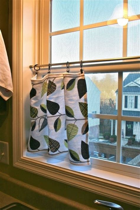 curtains for half windows 17 best ideas about half window curtains on pinterest
