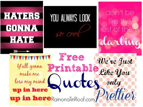 printable witty quotes free printable quotes sassy witty and fun
